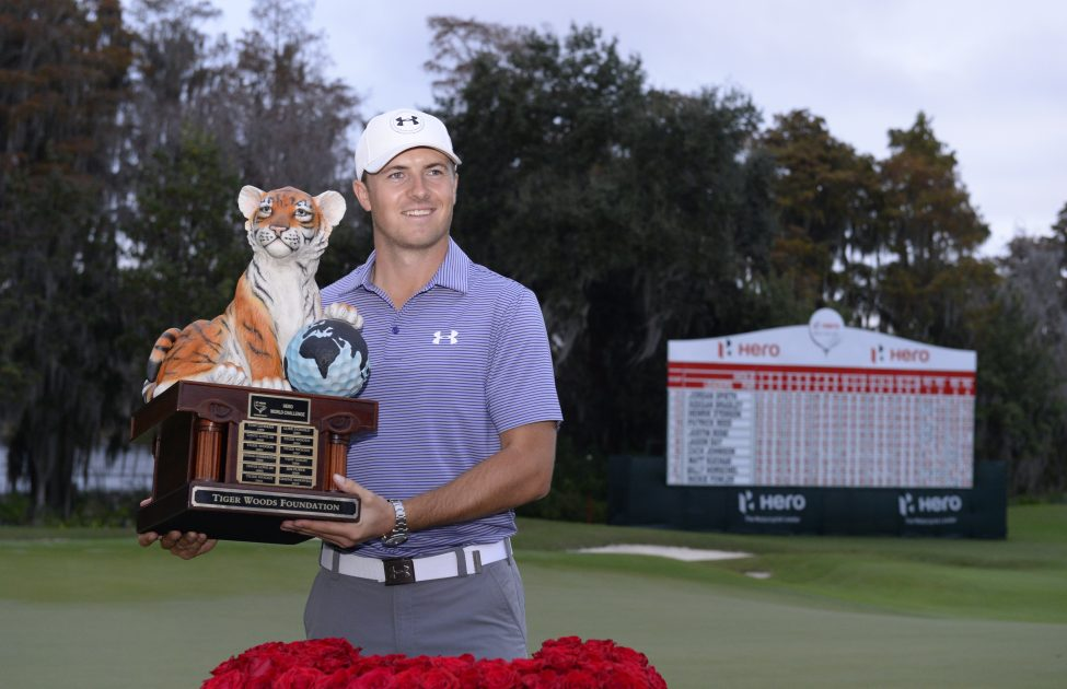 Jordan Speith Hero World Challenge champion